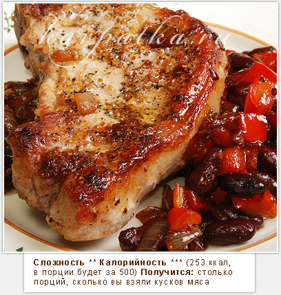 Мясо свинины на сковороде рецепт с фото